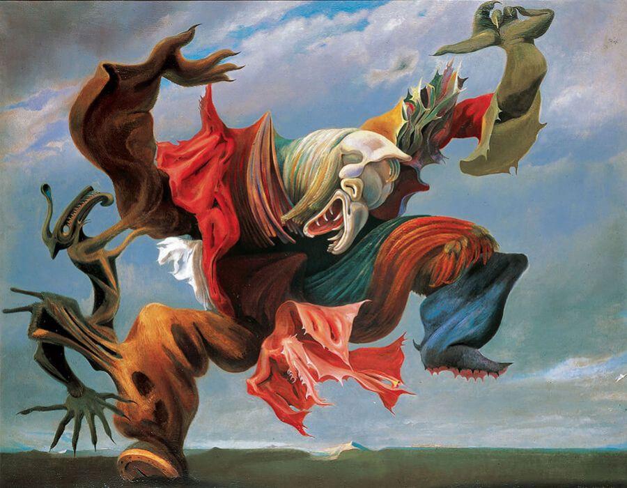 artistas surrealistas; max-ernest-900x700