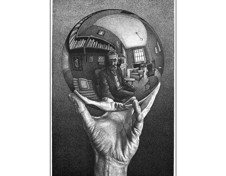 autorretrato; mc-escher-900x700-2