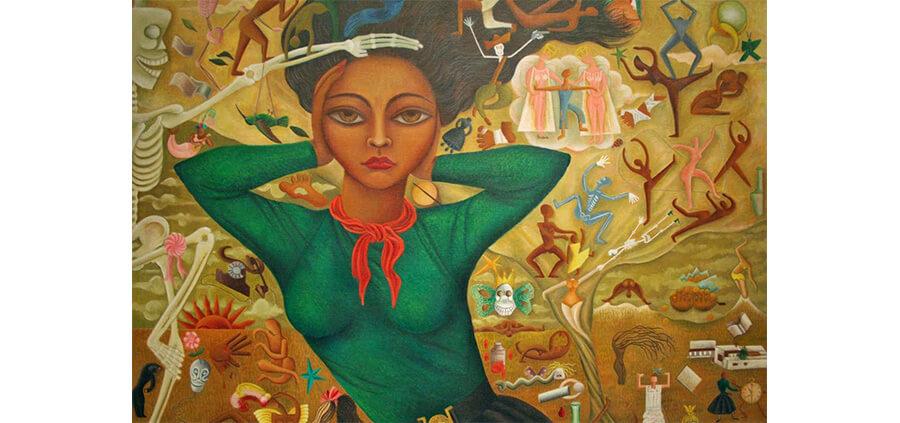 mulheres surrealistas: Rosa Rolanda