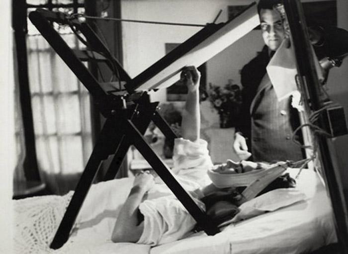 Frida Kahlo pós acidente