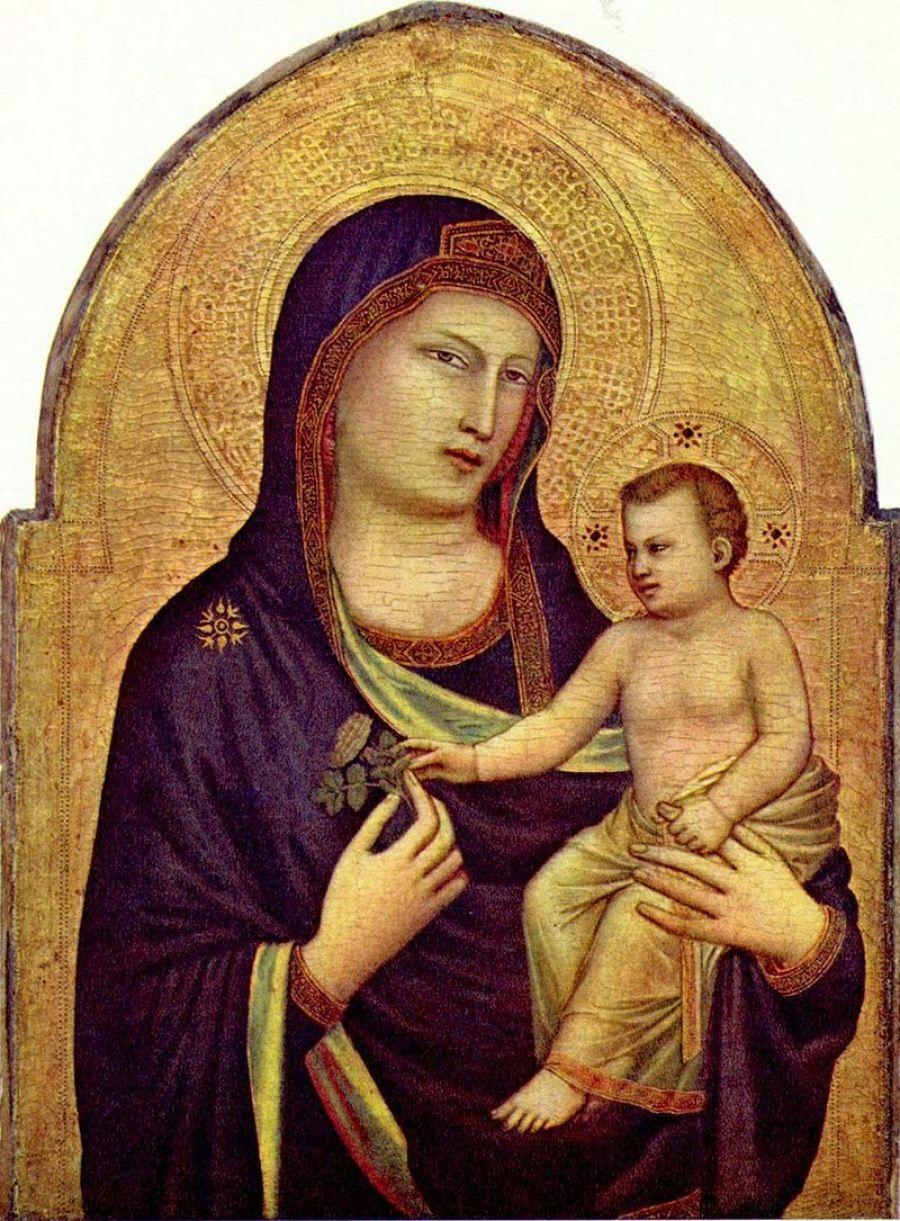Virgem Maria e o Menino Jesus (1266-1320) - Giotto de Bondone