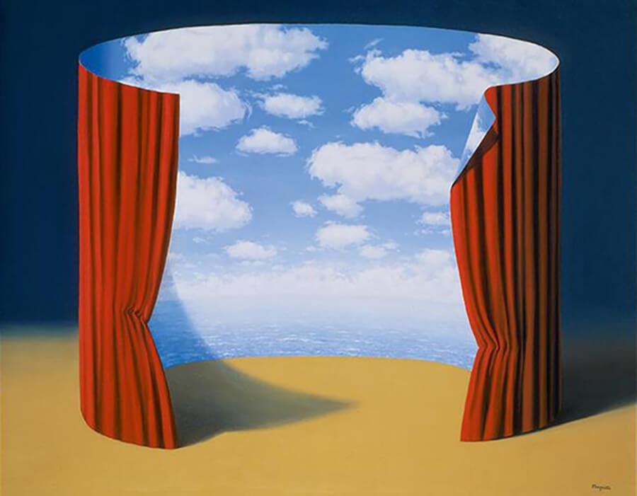 A marca surrealista de Magritte era algo irônico   VG Bild-Kunst Bonn 2017