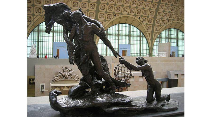 A Idade Madura- (1899) - Museu D'Orsay - Paris - Camille Claudel