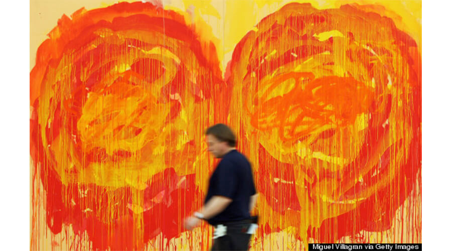 Cy Twombly: arte abstrata