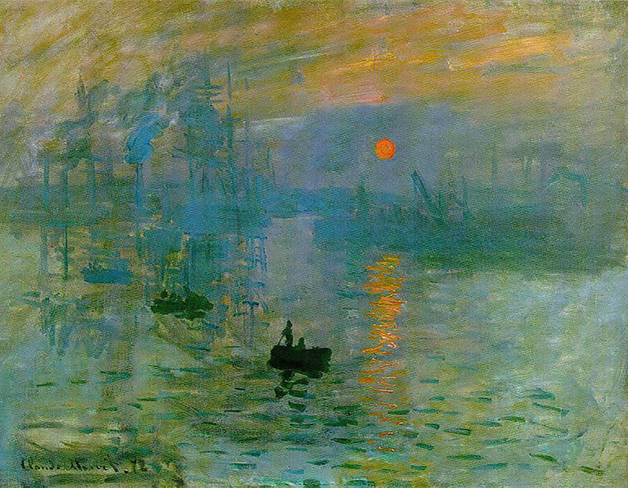 A catarata e a percepção de mundo do impressionista Monet