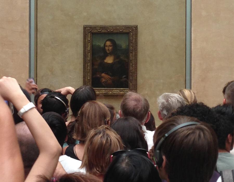 A Mona Lisa foi roubada!