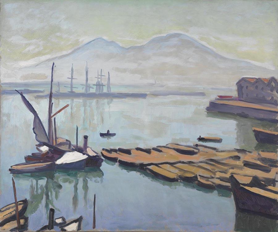 Fauvismo principais artistas; Albert Marquet - Baía de Nápoles (1908)