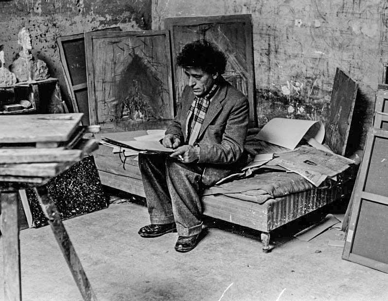 Giacometti: 12 fotos incríveis do estúdio em Paris