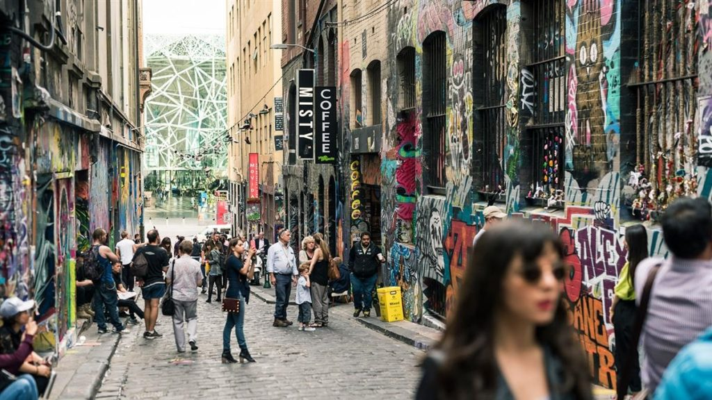 Arte Contemporânea de Melbourne