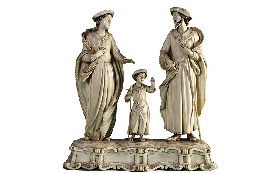 As raridades em marfim do Museu de Arte Sacra