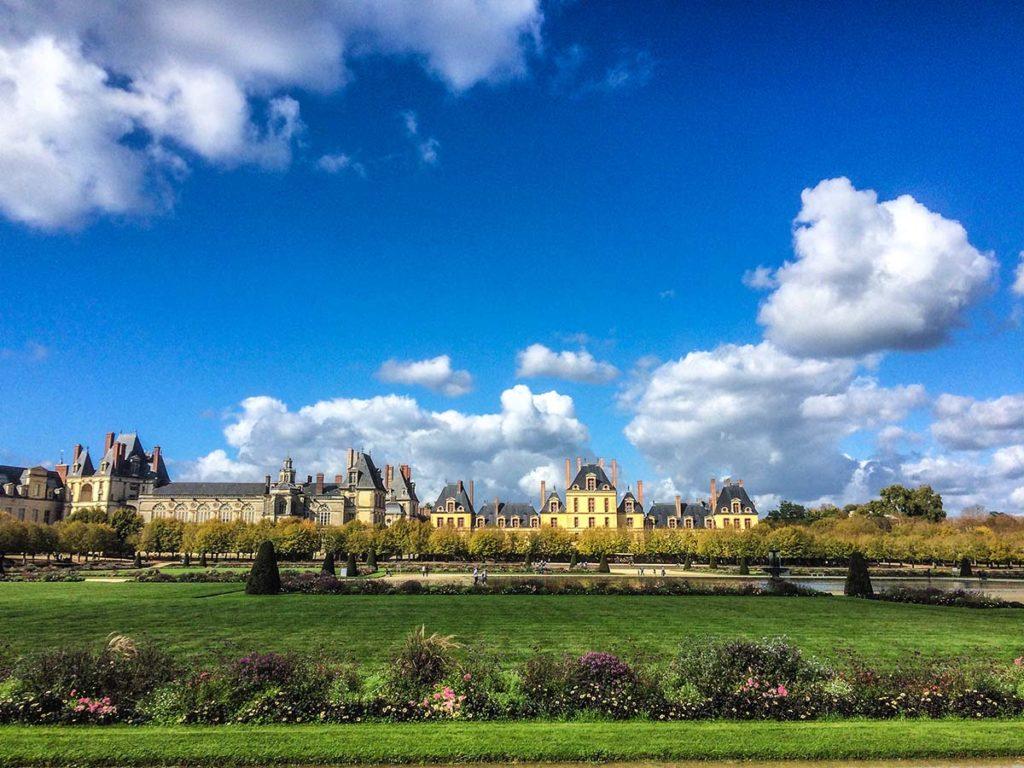 Castelo de Fontainebleu Foto: Marina Mantoan