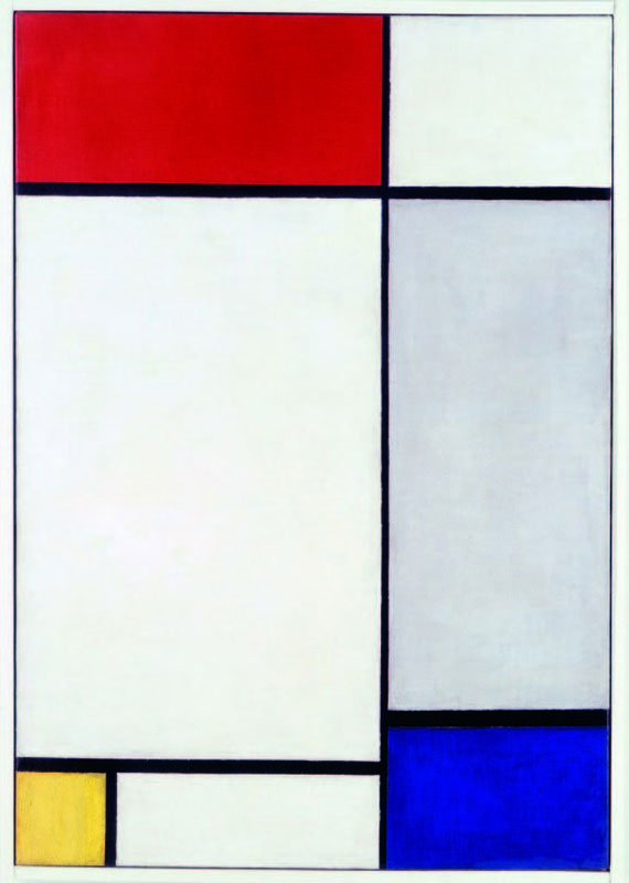 Mondrian   Composition with Red, Yellow and Blue, 1927