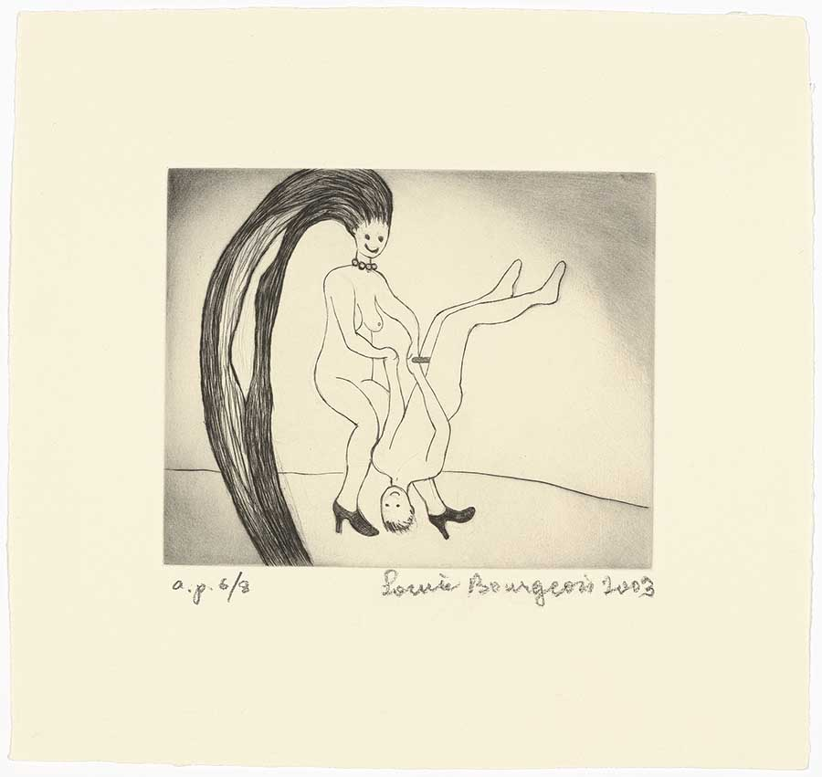 como ser um artista; Louise bourgeois, The Laws of Nature