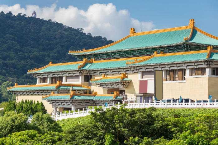 Museu do palácio nacional, Taiwan