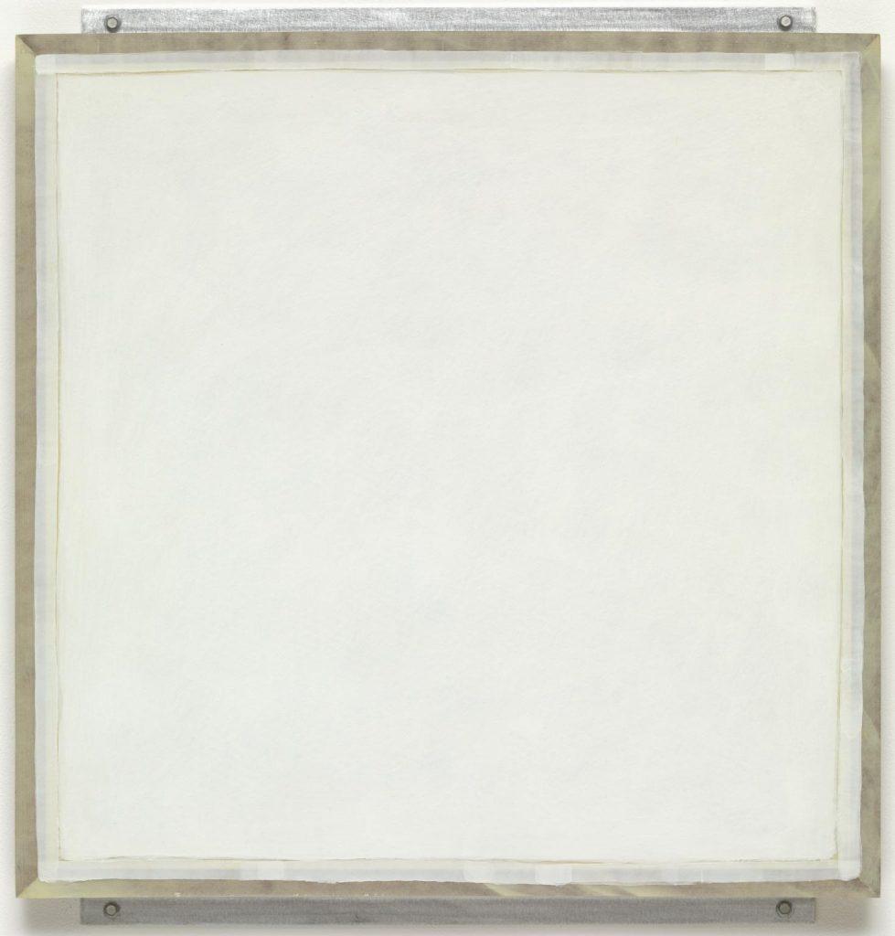 Ledger 1982, Robert Ryman born 1930 (Tate Gallery)