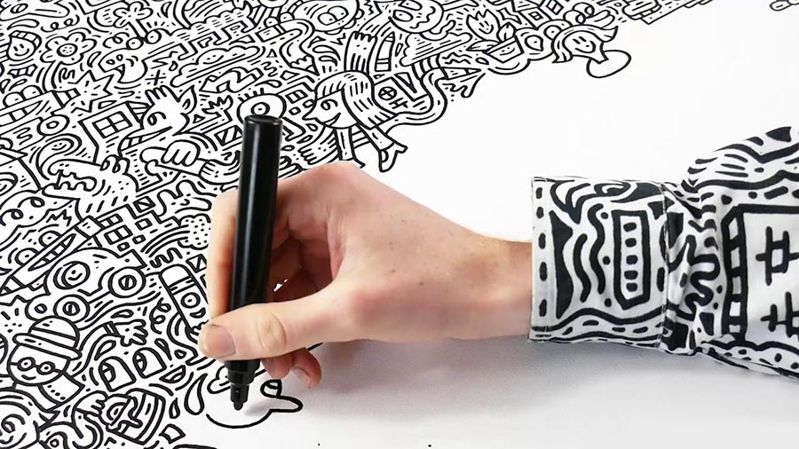 Mr. Doodle