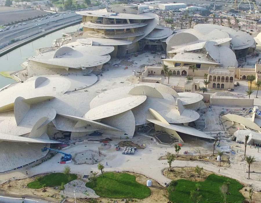 Apesar do bloqueio saudita, o Catar abre seu museu nacional, veja aqui.