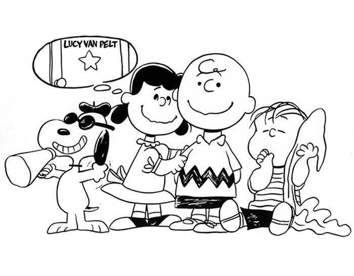 desenhos animados; Charlie Brown
