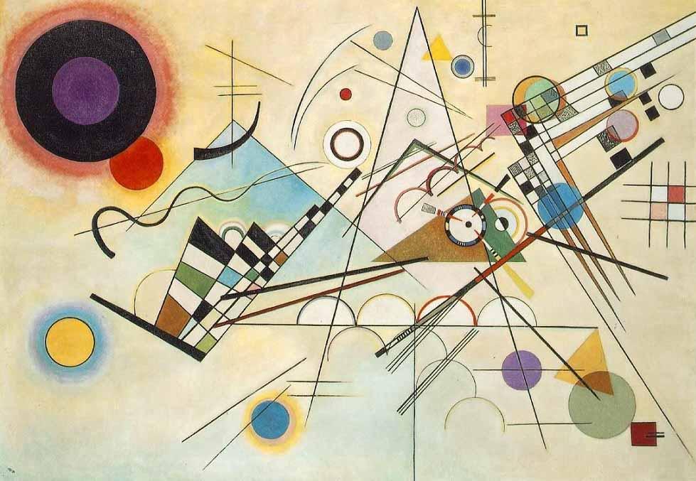 Vanguarda Russa; Wassily Kandinsky. Composição VIII (1923) | Museu Solomon R. Guggenheim