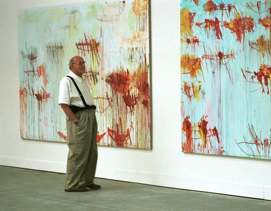 Como Cy Twombly influenciou a arte contemporânea