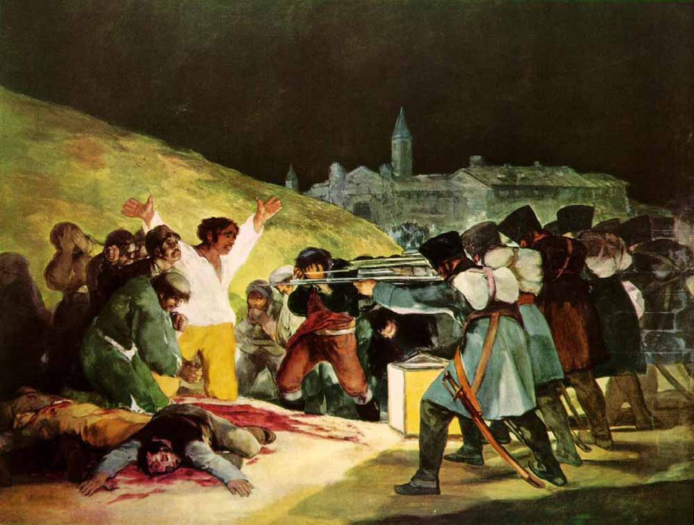 obras; the-Third-of-May-francisco-goya-painting