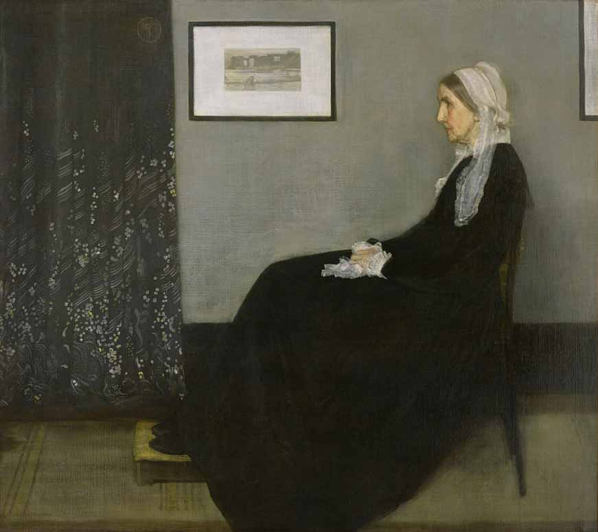 Whistler's-Mother-james-mcneill-whistler-painting