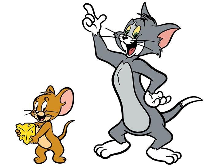 desenhos animados; tom e Jerry