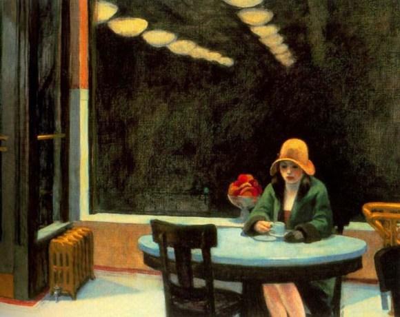Edward Hopper - Automat (1927)