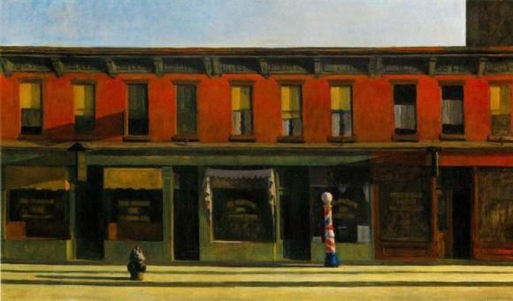 Edward Hopper - Early Sunday Morning (1930)