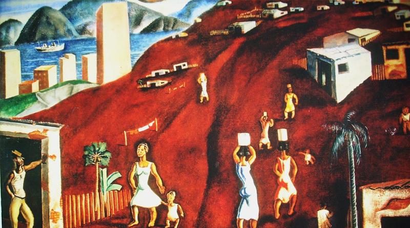 Representação das favelas em Candido Portinari