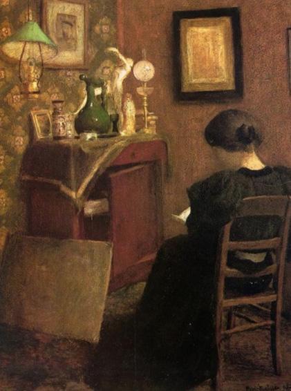 Mulher lendo, 1894