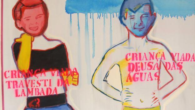 arte queer; travesti da lambada e deusa das águas