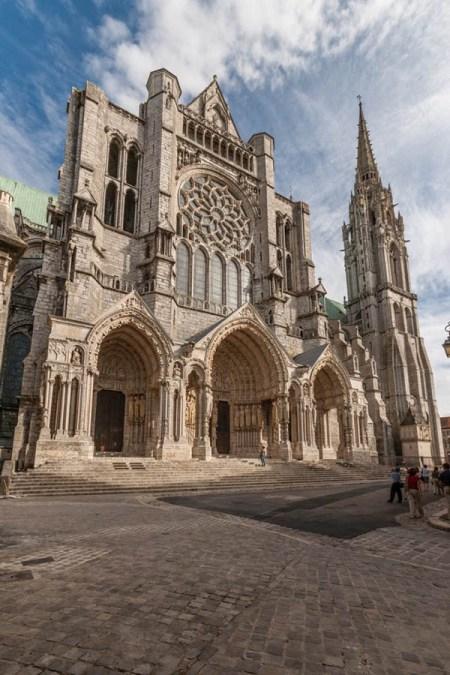 Catedral de Chartres; arquitetura gótica
