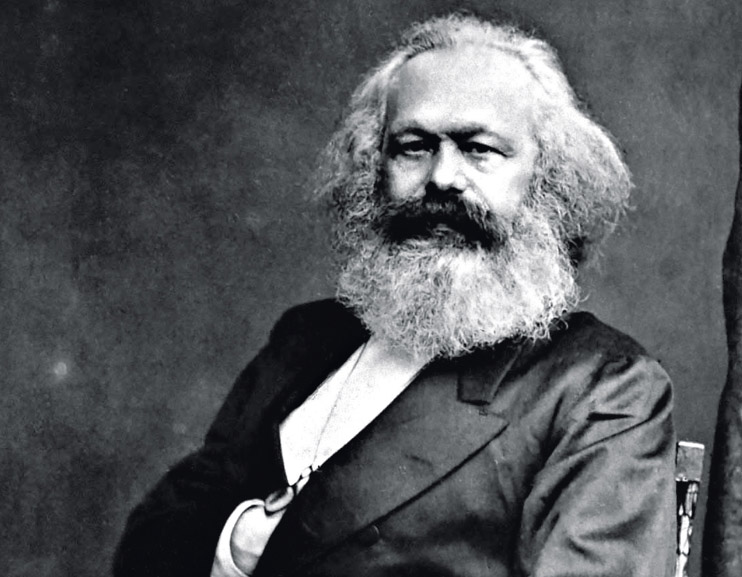 Retrato de Karl Marx