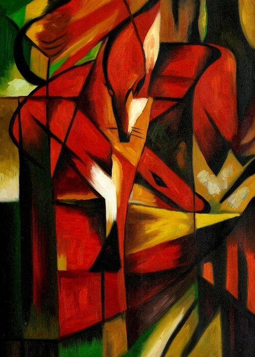 Franz Marc - The Foxes (1913)