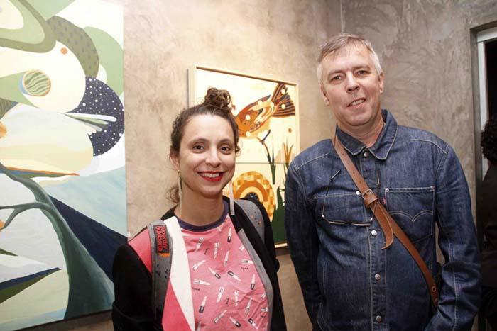 Galeria Zero; Dani Ruano e Tom Wray