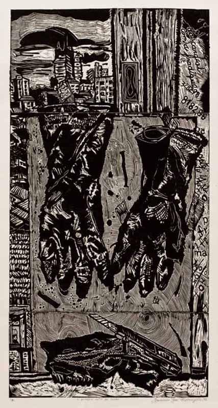 Francisco Maringelli -Paisagem entre luvas (1991)