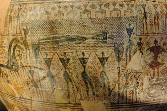 arte grega; Vaso grego do Período Geométrico