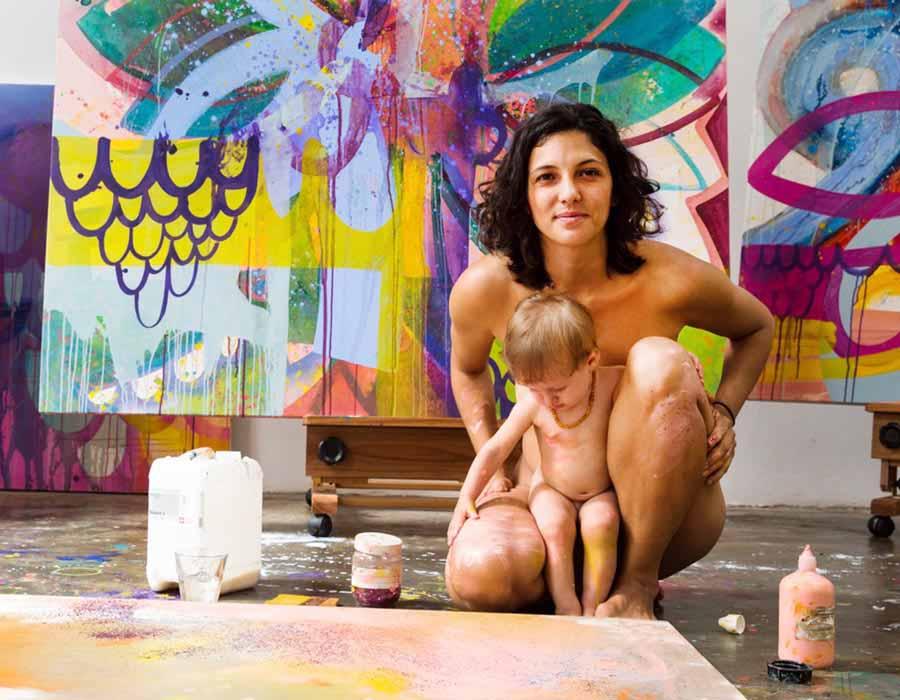 Renata Egreja e o feminismo materno como base para uma arte política