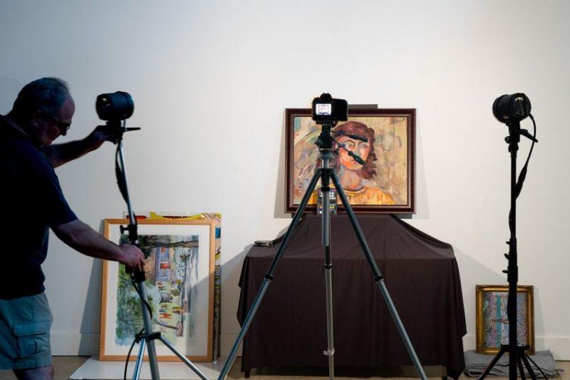 fotografia na divulgação da arte; Via | Dallas Center for Photography