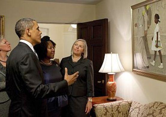 Obama e a pintura de ruby
