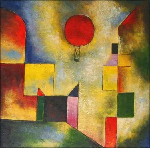 Paul Klee. Red Balloon (1922)