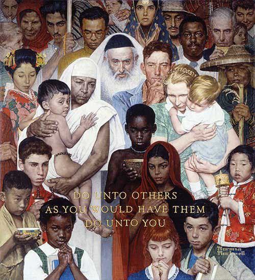 The-Golden-Rule-1961-Norman-Rockwell