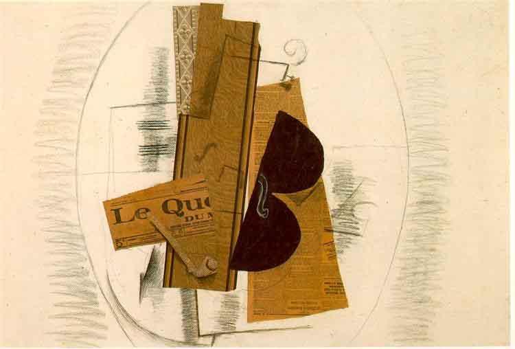 Violin e Pipe, 1913.