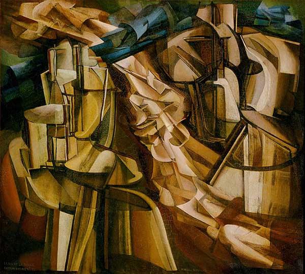 duchamp - cubismo