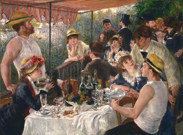 obras mais famosas de Renoir; Pierre-Auguste Renoir | O Almoço dos Barqueiros (1881)