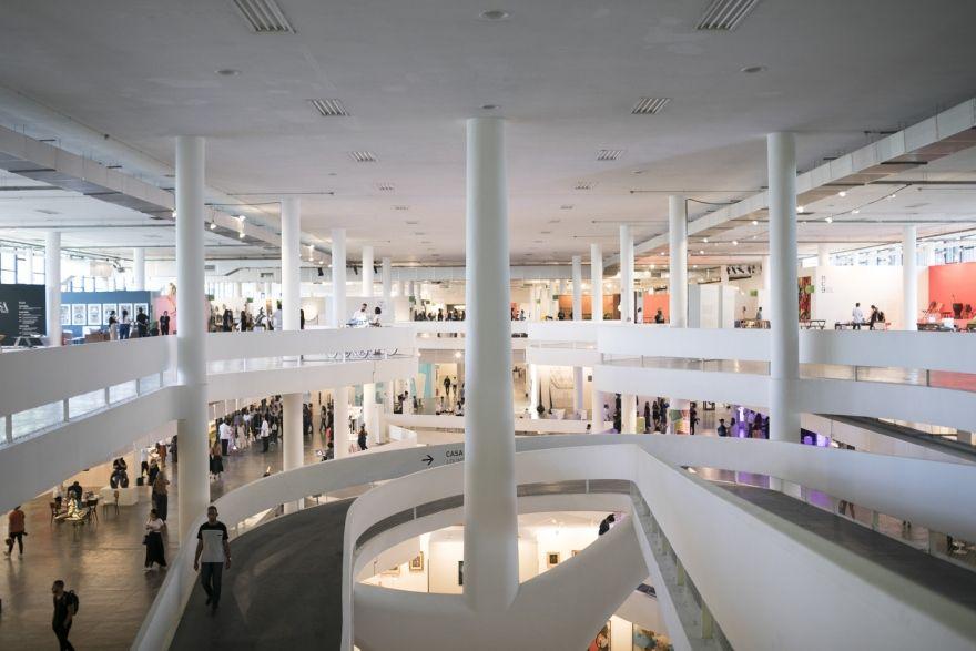 Pavilhão da bienal no Parque Ibirapuera SP-arte (2018)