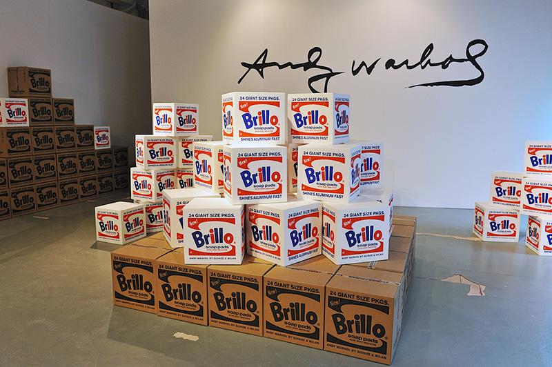 Andy Warhol Brillo Box (Soap Pads), 1964.