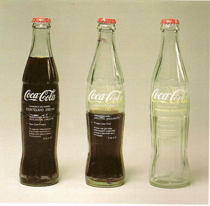 Tudo pode ser considerado arte?; Inserções em circuitos ideológicos: Projeto Coca-Cola (1970)
