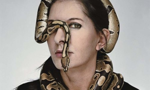 Marina Abramović | Snake
